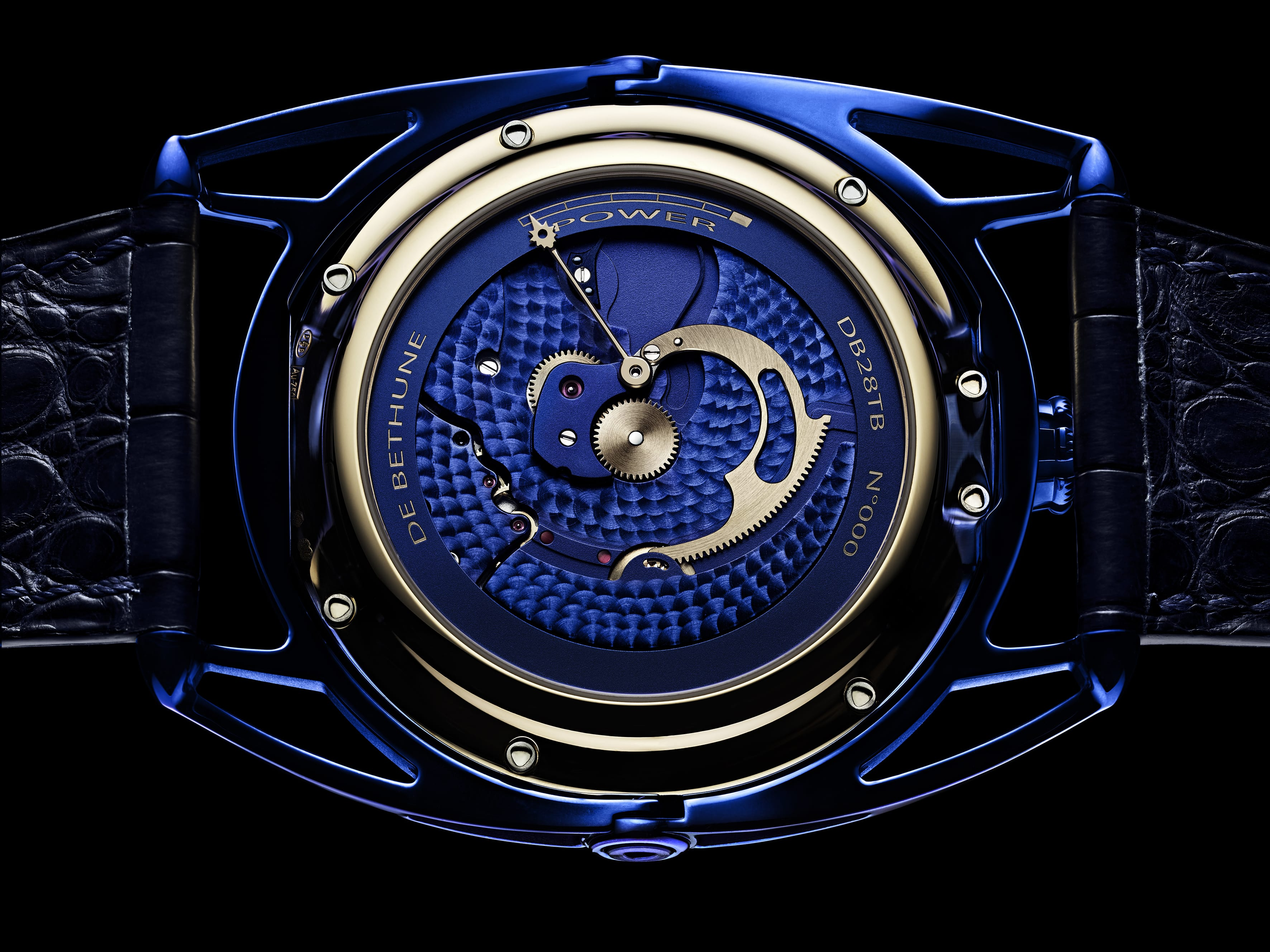 DB28 Kind of Blue Tourbillon Meteorite