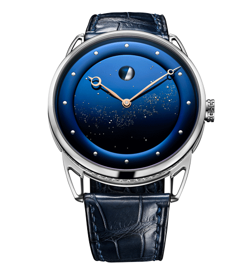 Moon Phase Starry Sky