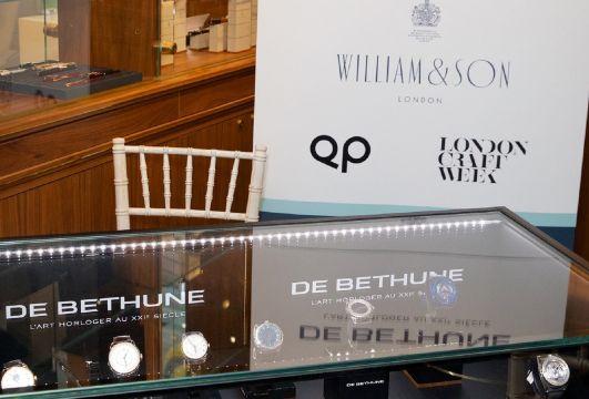 QP X William & Son Watch week