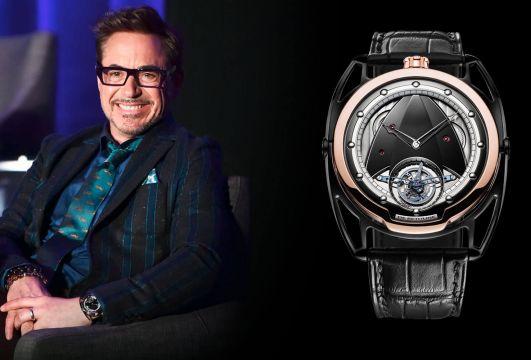 Robert Downey Jr. chooses De Bethune